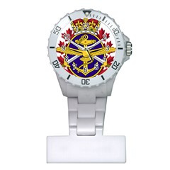 Badge Of Canadian Armed Forces Plastic Nurses Watch by abbeyz71