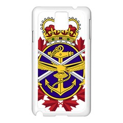 Badge Of Canadian Armed Forces Samsung Galaxy Note 3 N9005 Case (white) by abbeyz71