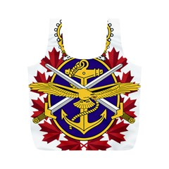 Badge Of Canadian Armed Forces Full Print Recycle Bag (m) by abbeyz71