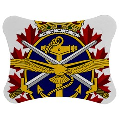 Badge Of Canadian Armed Forces Jigsaw Puzzle Photo Stand (bow) by abbeyz71