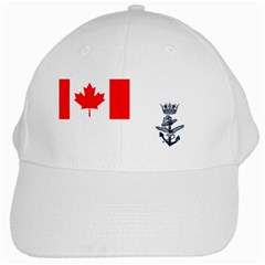 Naval Ensign Of Canada White Cap by abbeyz71