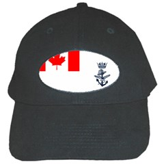 Naval Ensign Of Canada Black Cap by abbeyz71