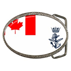 Naval Ensign Of Canada Belt Buckles by abbeyz71