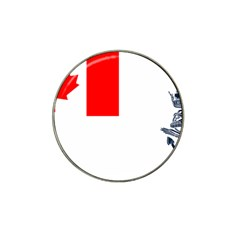Naval Ensign Of Canada Hat Clip Ball Marker by abbeyz71