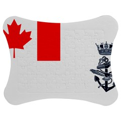 Naval Ensign Of Canada Jigsaw Puzzle Photo Stand (bow) by abbeyz71
