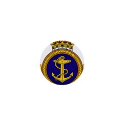 Badge Of Royal Canadian Navy 1  Mini Buttons by abbeyz71