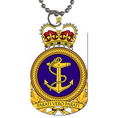 Badge Of Royal Canadian Navy Dog Tag (two Sides) by abbeyz71