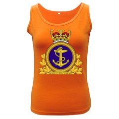 Badge Of Royal Canadian Navy Women s Dark Tank Top by abbeyz71