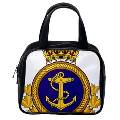 Badge Of Royal Canadian Navy Classic Handbag (one Side) by abbeyz71