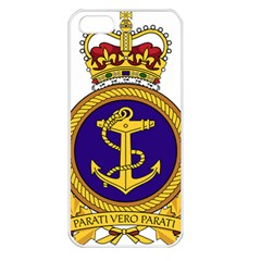 Badge Of Royal Canadian Navy Apple Iphone 5 Seamless Case (white) by abbeyz71