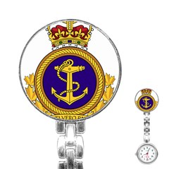 Badge Of Royal Canadian Navy Stainless Steel Nurses Watch by abbeyz71