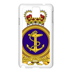 Badge Of Royal Canadian Navy Samsung Galaxy Note 3 N9005 Case (white) by abbeyz71
