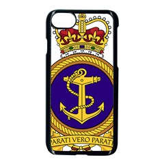Badge Of Royal Canadian Navy Apple Iphone 8 Seamless Case (black) by abbeyz71