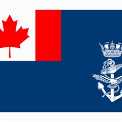 Canadian Naval Auxiliary Jack Canvas 20  X 24