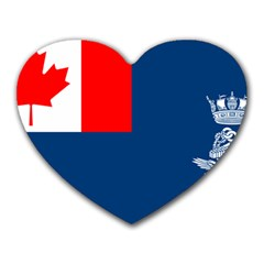 Canadian Naval Auxiliary Jack Heart Mousepads by abbeyz71