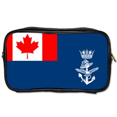 Canadian Naval Auxiliary Jack Toiletries Bag (two Sides) by abbeyz71