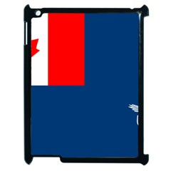Canadian Naval Auxiliary Jack Apple Ipad 2 Case (black)