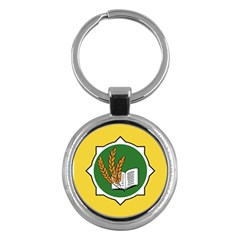 Flag Of Bozeman, Montana Key Chains (round)