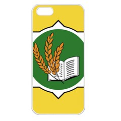 Flag Of Bozeman, Montana Apple Iphone 5 Seamless Case (white) by abbeyz71