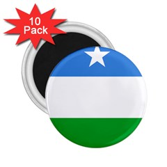 Flag Of Puntland 2 25  Magnets (10 Pack)