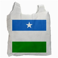 Flag Of Puntland Recycle Bag (one Side) by abbeyz71