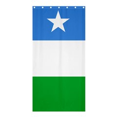Flag Of Puntland Shower Curtain 36  X 72  (stall)