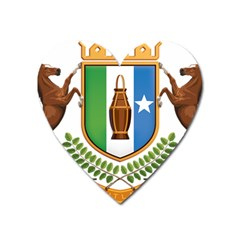 Coat Of Arms Of Puntland Heart Magnet by abbeyz71