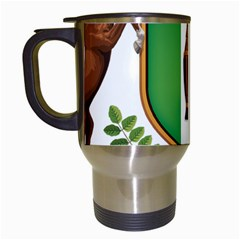 Coat Of Arms Of Puntland Travel Mugs (white) by abbeyz71