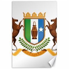 Coat Of Arms Of Puntland Canvas 24  X 36  by abbeyz71