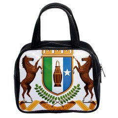 Coat Of Arms Of Puntland Classic Handbag (two Sides)
