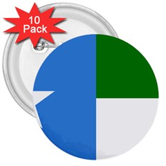 Flag Of West Puntland 3  Buttons (10 Pack)  by abbeyz71