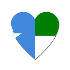 Flag Of West Puntland Heart Magnet by abbeyz71