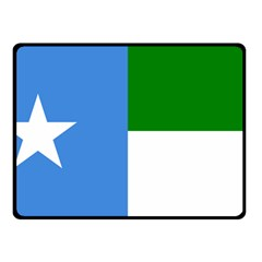 Flag Of West Puntland Double Sided Fleece Blanket (small)