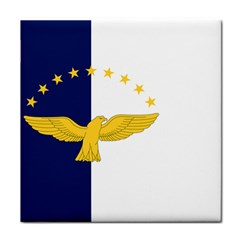 Flag Of Azores Tile Coasters