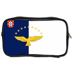 Flag Of Azores Toiletries Bag (one Side)