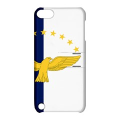 Flag Of Azores Apple Ipod Touch 5 Hardshell Case With Stand by abbeyz71