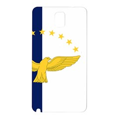 Flag Of Azores Samsung Galaxy Note 3 N9005 Hardshell Back Case by abbeyz71