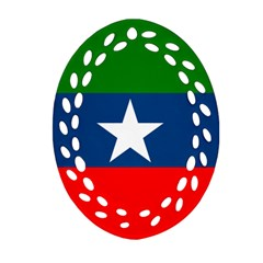Flag Of Ogaden National Liberation Front Ornament (oval Filigree) by abbeyz71