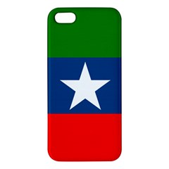 Flag Of Ogaden National Liberation Front Apple Iphone 5 Premium Hardshell Case
