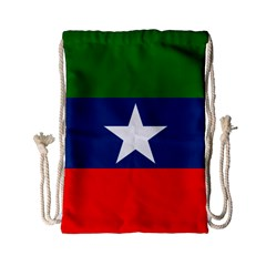 Flag Of Ogaden National Liberation Front Drawstring Bag (small) by abbeyz71