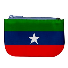 Flag Of Ogaden National Liberation Front Large Coin Purse