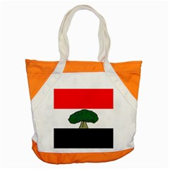 Flag Of Oromia Region Accent Tote Bag by abbeyz71