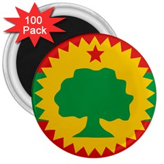 Flag Of Oromo Liberation Front 3  Magnets (100 Pack) by abbeyz71