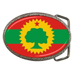 Flag Of Oromo Liberation Front Belt Buckles by abbeyz71