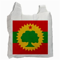 Flag Of Oromo Liberation Front Recycle Bag (one Side)