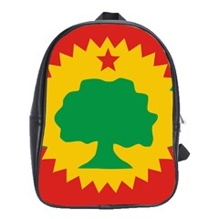 Flag Of Oromo Liberation Front School Bag (large) by abbeyz71