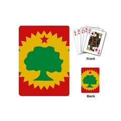 Flag Of Oromo Liberation Front Playing Cards (mini)