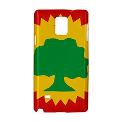 Flag Of Oromo Liberation Front Samsung Galaxy Note 4 Hardshell Case
