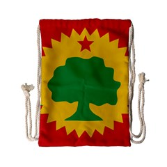 Flag Of Oromo Liberation Front Drawstring Bag (small)