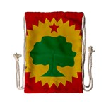 Flag of Oromo Liberation Front Drawstring Bag (Small) Back